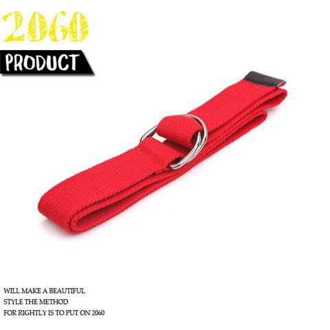 New Arrival Fashion Style Canvas Belt For Boy/Men-Red(Lenght 110CM) -