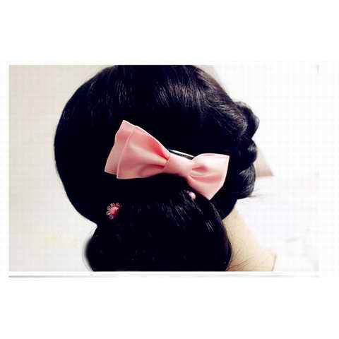 Hot Sale Corean Bowknot Decorated Design Hair Accessory - COFFEE