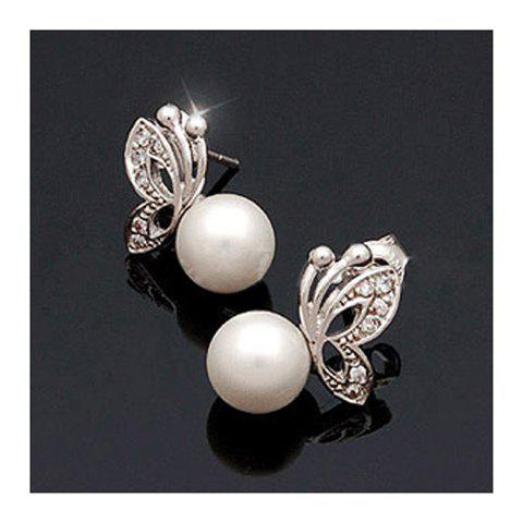 Korean Fashion Style Exquisite Butterfly Shape Olivet Earrings -