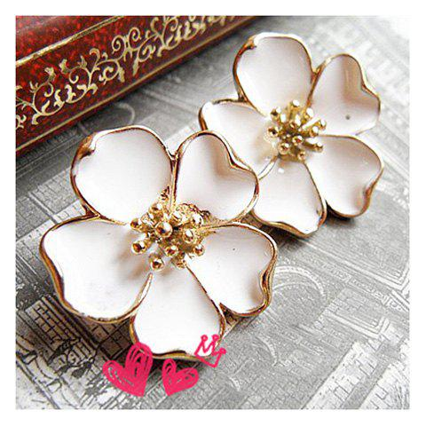 Flower Pattern Design Earrings -