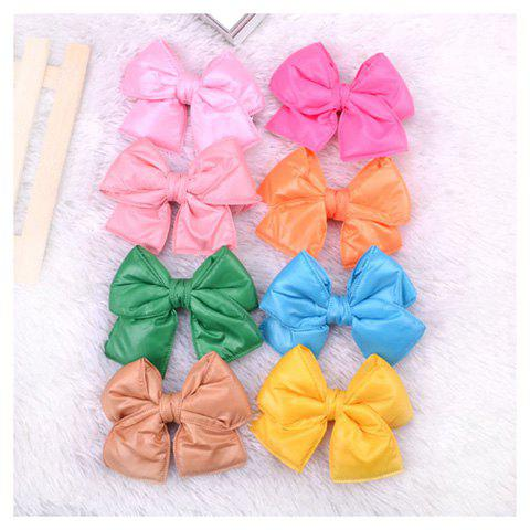 New Style Down Jacket Fabrics Big Bowknot Hairpin