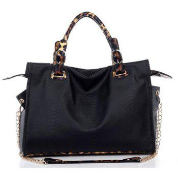 New Arrival Crocodilian Veins Embellished Handbag/Slanting Bag For Female - BLACK BLACK