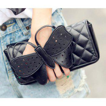 New Arrival Covered Bowknot and Rhombus Embossing Embellished Slanting Bag/One-Shoulder Bag For Female