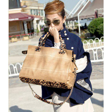 New Arrival Crocodilian Veins Embellished Handbag/Slanting Bag For Female - BEIGE