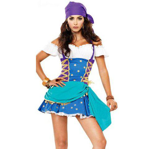 Special Offer Sea Rover Cosplay Short Sleeves Costume Set For Women