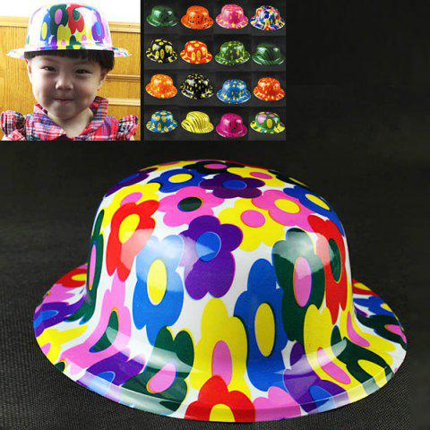 Halloween Party Accessory Plastic Clown Hat as Decoration Props in New Design -