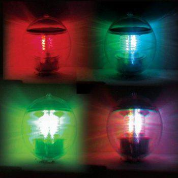 Wonderful Solar Powered Ball Style Multi-colored LED Light Decorative Lamp (Transparent)