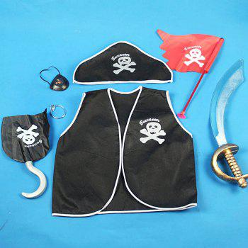 Performance Wear Costume Pirate Clothes Children Set for Halloween/Cosplay Party