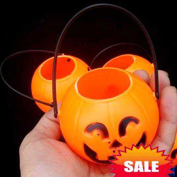 12CM Pumpkin Pot Light Halloween Decoration in Excellent Design (5 in Box) -