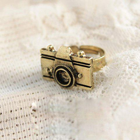 Fashion Camera Shape Embellished Ring