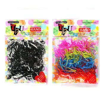Sweet Style 10PCS Colorful Rubber Hair Bands