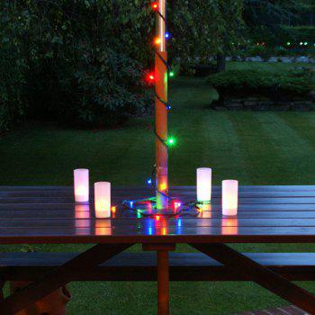 60 LEDs Colorful Light Christmas Decor Solar LED String Light - CIS-58260 -