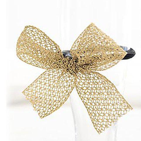 New Arrival Sweet Style Voile Embellished Bowknot Hair Band For Women