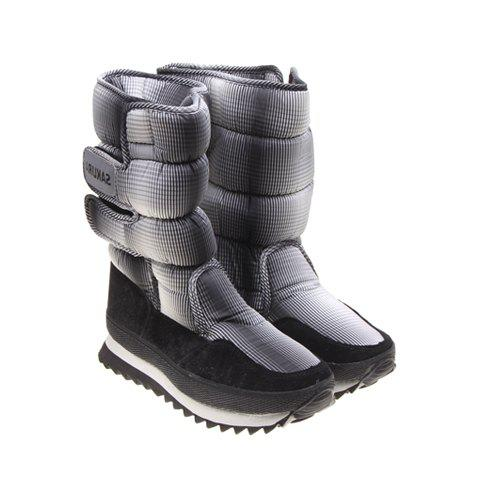 Adjustable and Imitation Fur Design Women's Short Boots - BLACK 37