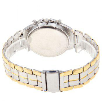 Rosra Men's Watches with Quartz Analog Round Shaped Dial Steel Watchband in New Design -  GOLDEN