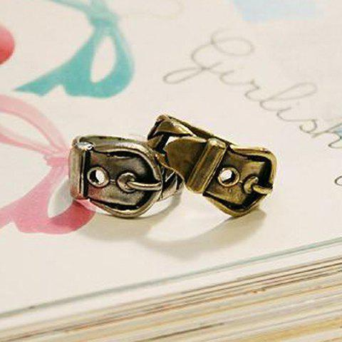 Novel Retro Style Belt Shape Finger Ring For Women