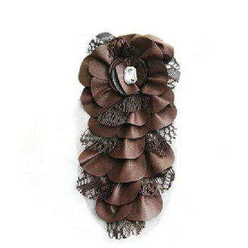 Chic Graceful Style Lace Embellished Women's Handmade Brooch