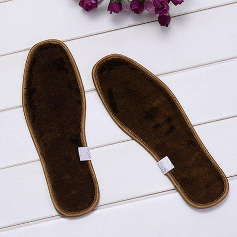 Warmming and Healthy Pair of Deodorant Cotton Velvet Insoles For Couples - AS THE PICTURE 39