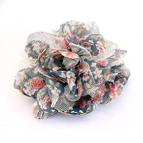 Hot Sell Gallant Ladylike Style Flower Shape Colorful Brooch For Women - AS THE PICTURE
