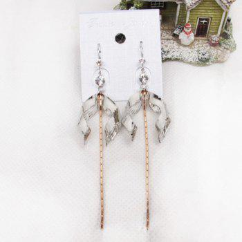 Hot Sale Graceful Tassels Embellished Women's Drop Earrings