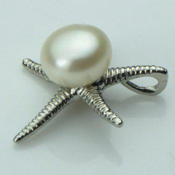 Fashion Sweet Style Faux Pearl Embellished Star Shape Women's Pendant - AS THE PICTURE AS THE PICTURE