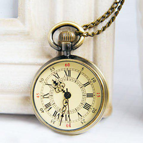 Fashion Style Pocket Watch Pendant Necklace For Women от Dresslily.com INT