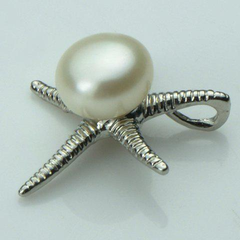 Fashion Sweet Style Faux Pearl Embellished Star Shape Women's Pendant - AS THE PICTURE