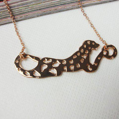 Stylish Fashion Style Leopard Shape Women's Necklace - AS THE PICTURE