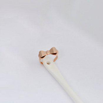 Bowknot Shape Alloy Ring