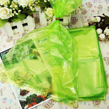 20 Pack Freshness Protection Green Plastic Bags for Food Vegetable