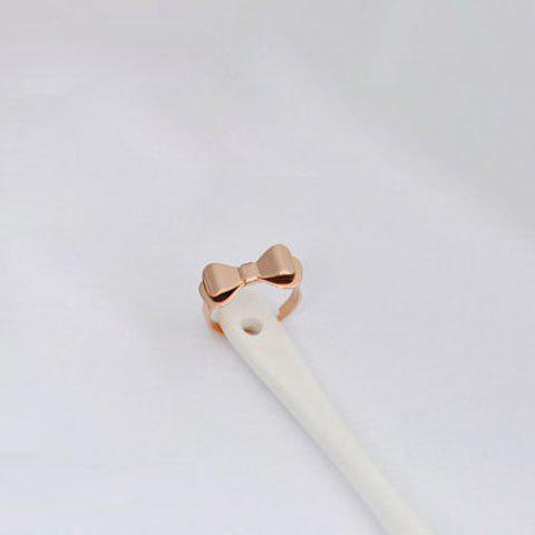 Bowknot Shape Alloy Ring - AS THE PICTURE