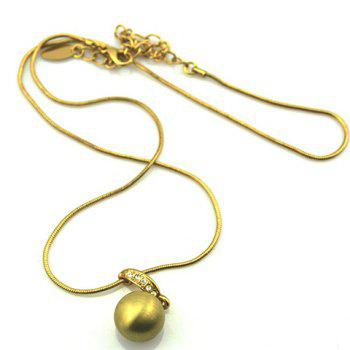 Fashion Exquisite Rhinestoned Alloy Necklace For Women - AS THE PICTURE AS THE PICTURE