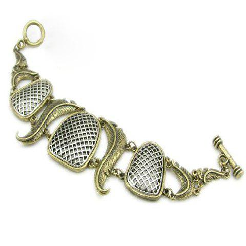 Retro Hot Sale Style Multielement Alloy Bracelet For Women - AS THE PICTURE