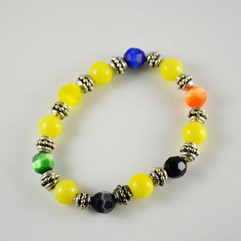 Sweet Gorgeous Style Colorful Beads Embellished Bracelet For Women