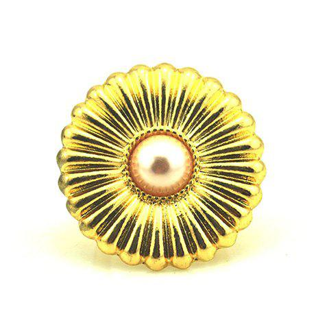 Sweet Exquisite Flower Shape Finger Ring For Women - AS THE PICTURE ONE SIZE