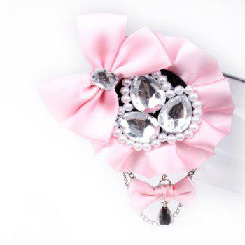 Stunning Pearl and Rhinestone Embellished Flower Brooch For Women