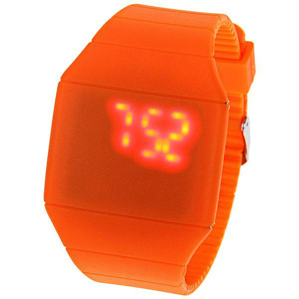 how to change the time on a touch led watch