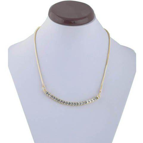 Cristaux style chic embelli collier pendentif Camber - Comme Photo