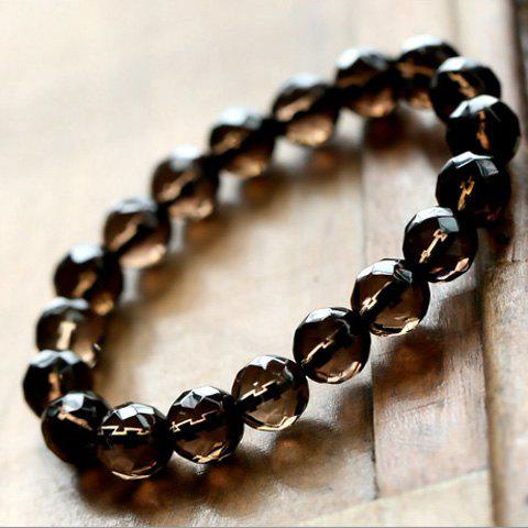 Chic Style Embellished Beads Strand Bracelet - AS THE PICTURE