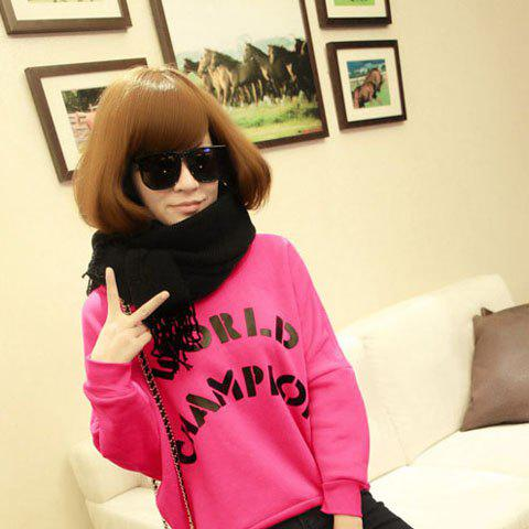 Chic Style Black Color Exquisite Scarf - AS THE PICTURE