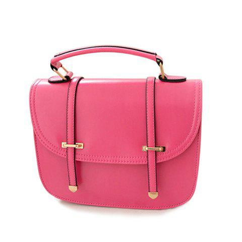 New Arrival Tote and Candy Color Design Korean Handbag For Women - ROSE