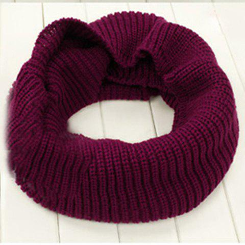 Hot Sales Wide Wool Yarn Scarf - COLOR ASSORTED