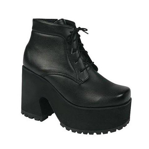Trendy Solid Color and Lace-Up Design Short Boots For Women - BLACK 37