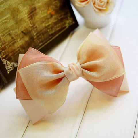 Exquisite Fresh Style Multi-Colored Handmade Bowknot Shape Hairpin For Women