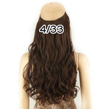 Fashion Fluffy Long Wavy High Temperature Fiber Women's Hair Extension