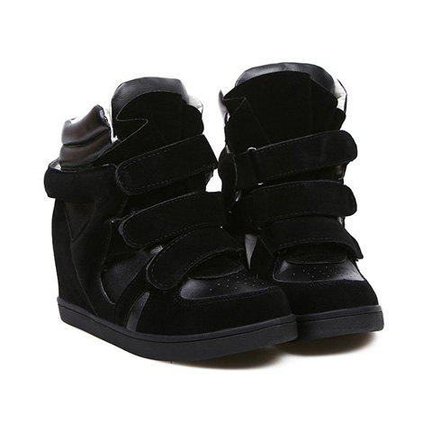 Casual Color Matching and  Design Boots For Women - BLACK 39