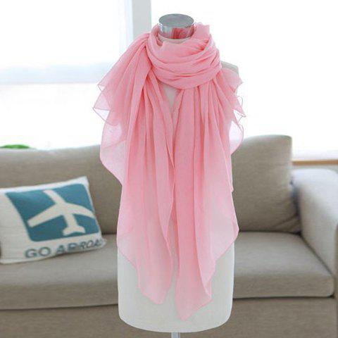 Tristy Simple Solid Color Scarf For Women - Couleur aléatoire
