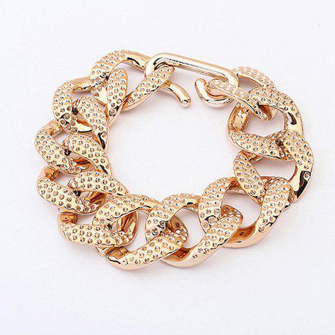 Chic Solid Color Chain Bracelet For Women
