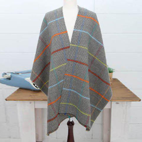 Versatile Plaid Colored Long Scarf For Women