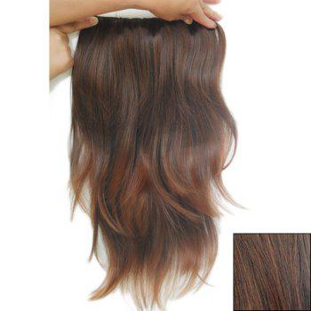 Fashionable Long Slightly Curled High Temperature Fiber Hair Extension For Women